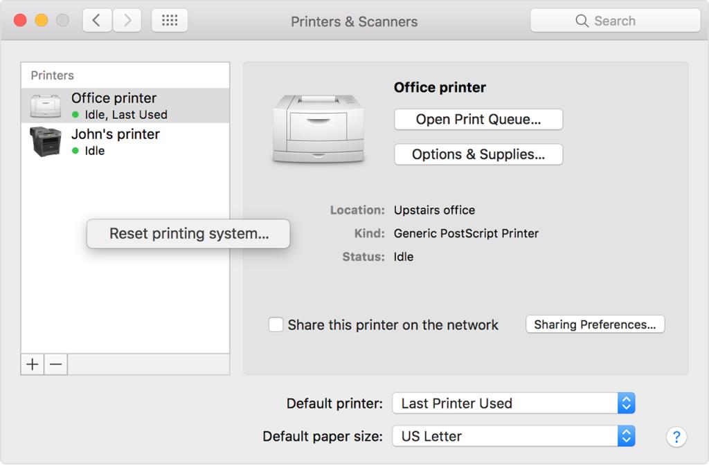 Mac Printer & Scanners