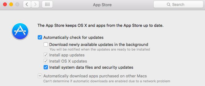 App Store Notification Settings