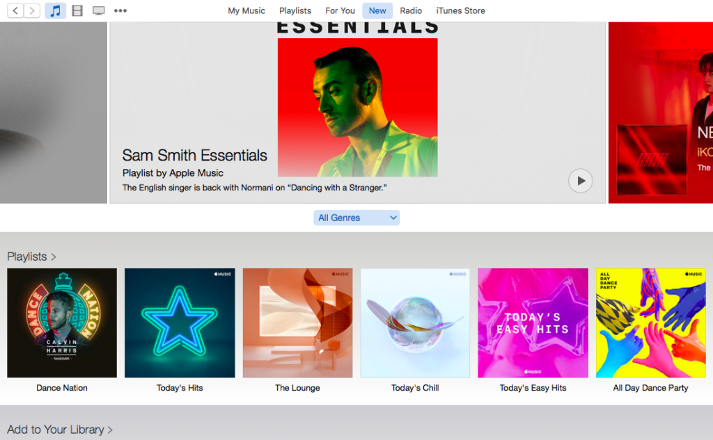 Apple Music Recommendations