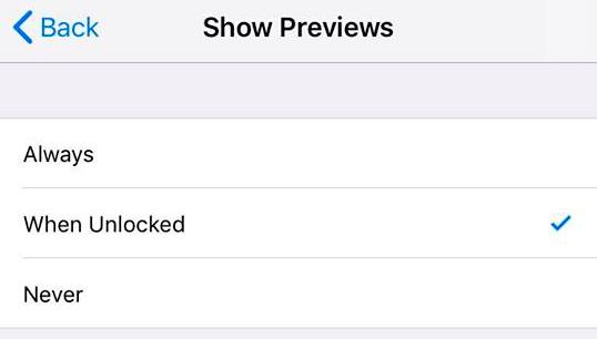 Show Previews
