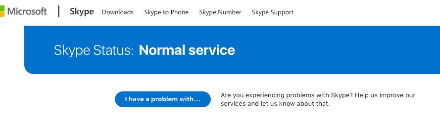 Skype Status Check