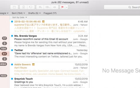 Mac Mail Keeps Crashing in High Sierra