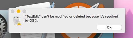 TextEdit OS X