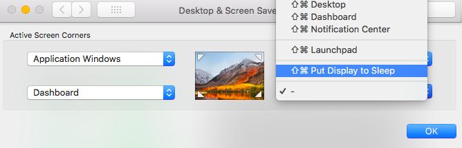 Desktop and Screensaver Mac