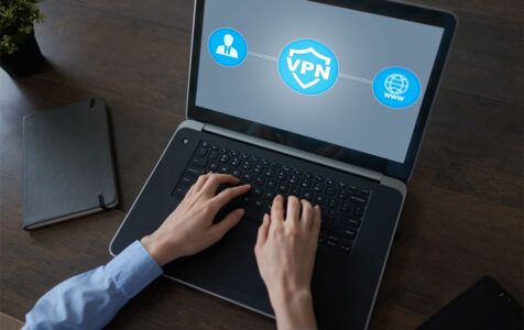 Laptop with Virtual Private Network