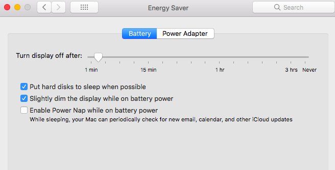Mac Energy Saver