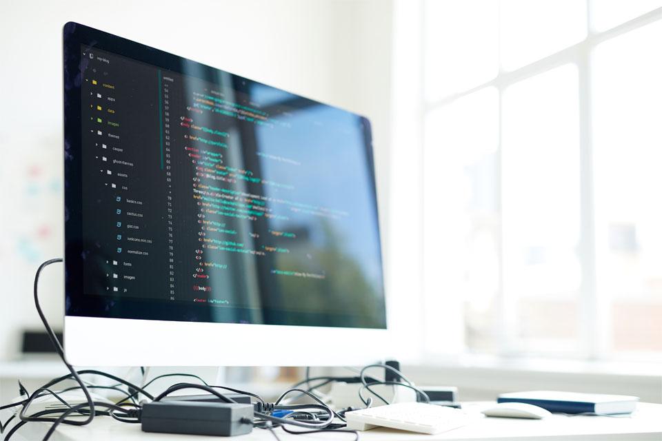 Workplace of modern programmer