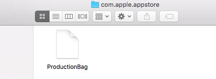 appstore folder