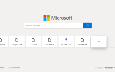 New Microsoft Edge Browser