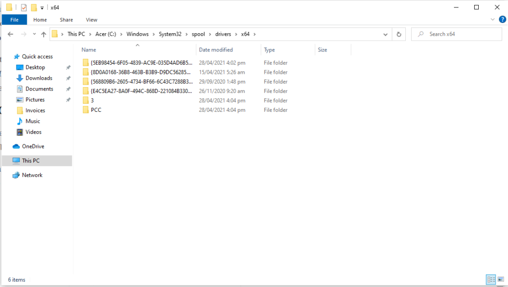 Windows x64 Folder