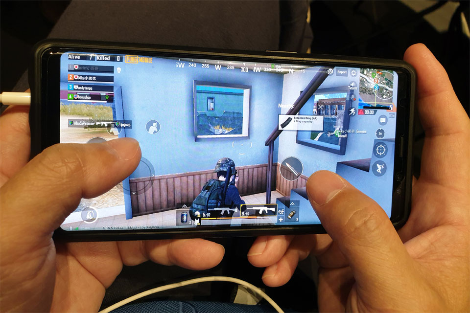 PUBG online shooting gaming