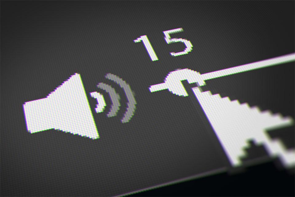 Sound Volume on PC Taskbar