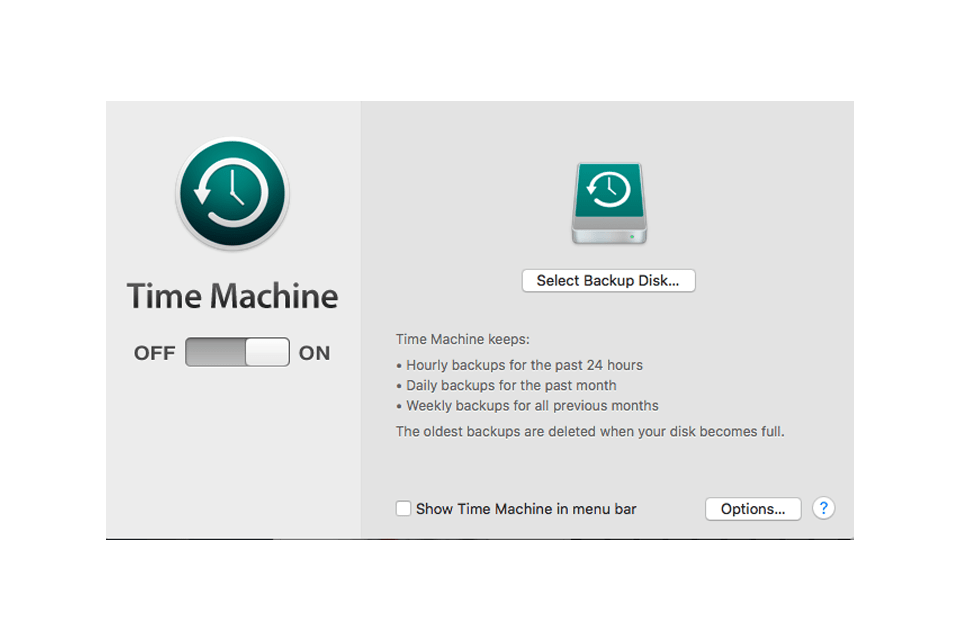 Time Machine Backup Failures