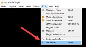 VLC Preferences