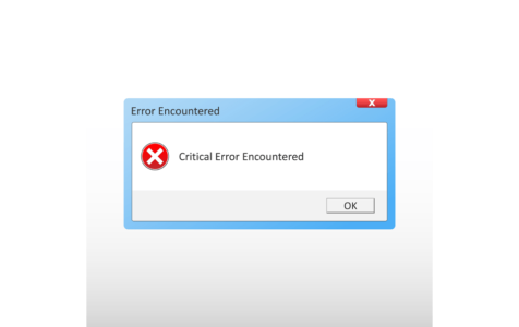 Critical Error Encountered