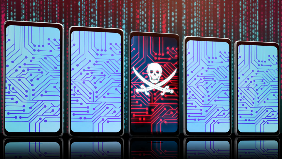 Hacked Smartphone