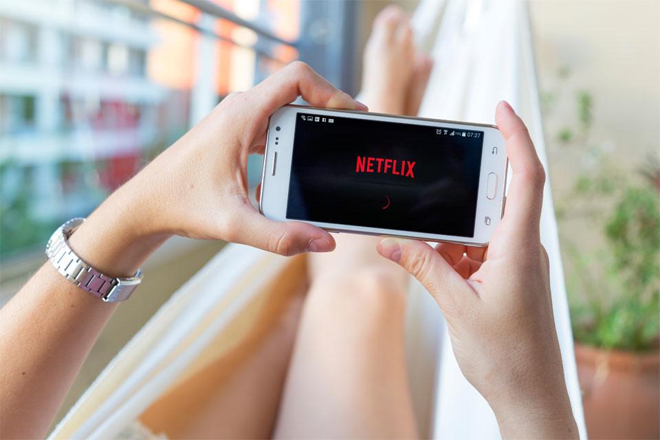 Netflix in Smartphone