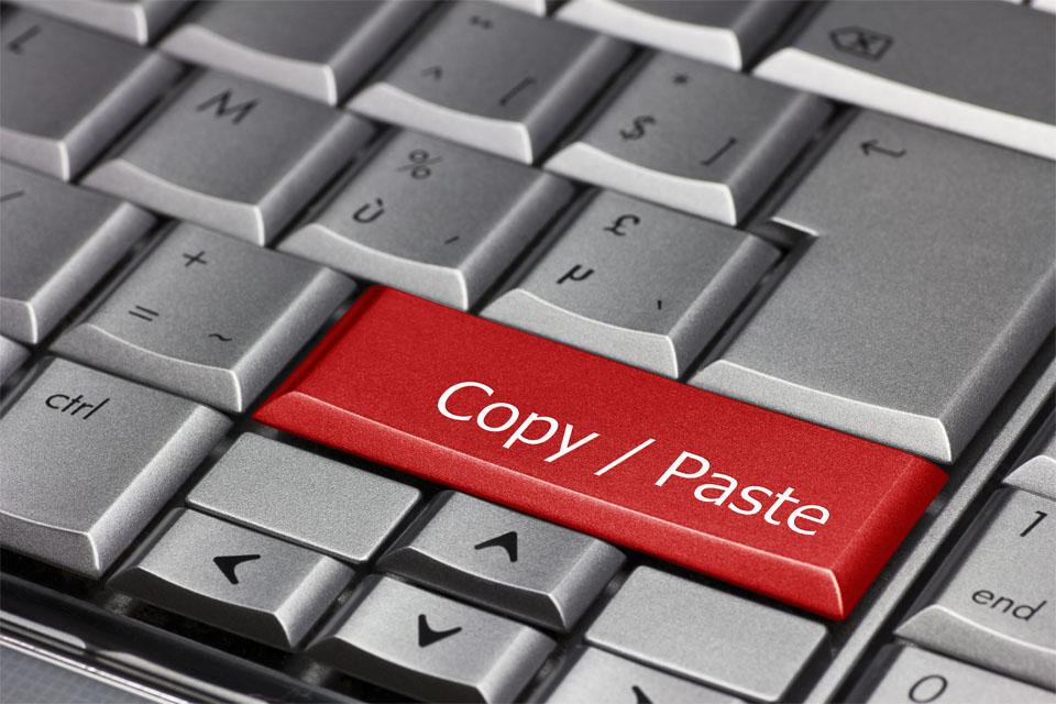 Computer Key Copy Paste