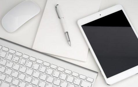 Digital Tablet Keyboard Notebook