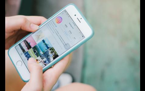 Instagram App on Apple iPhone