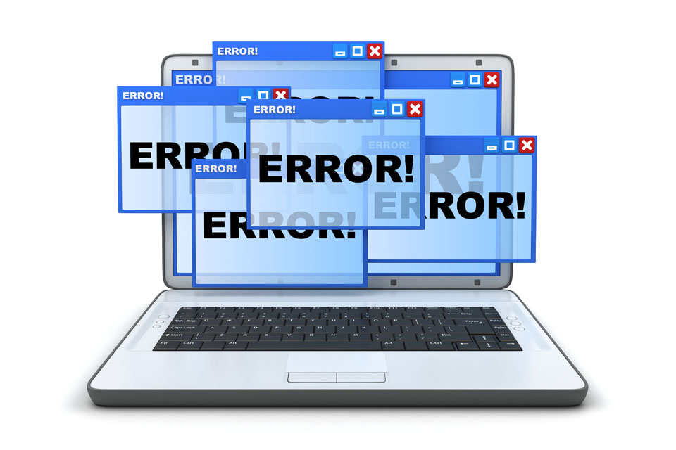 Laptop Windows Errors
