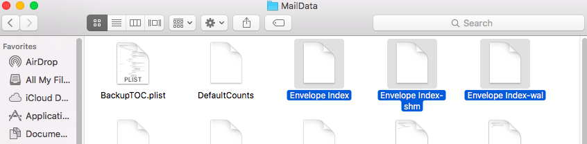 Mail Data