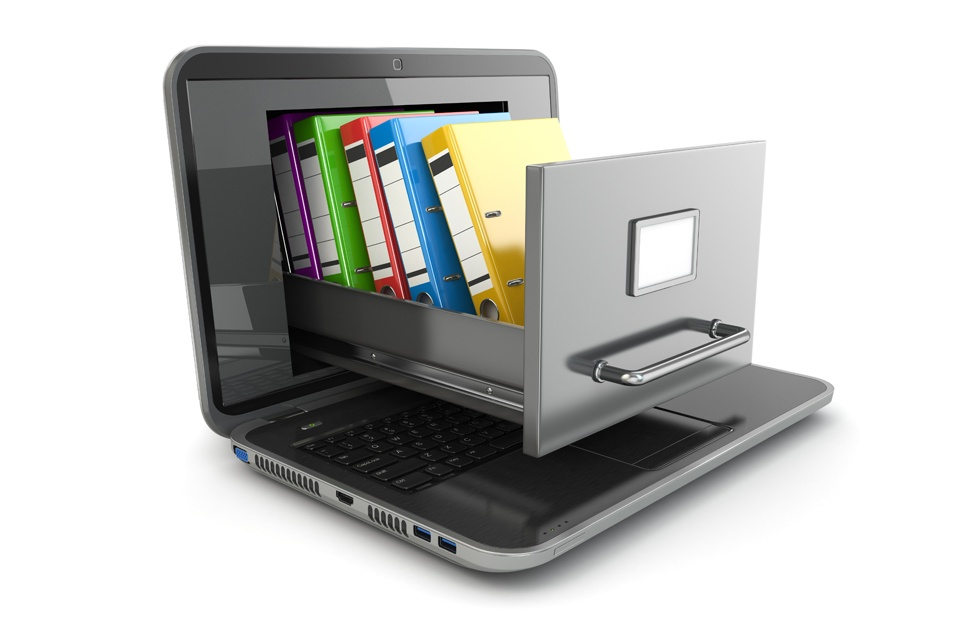 Data Storage Laptop File Cabinet