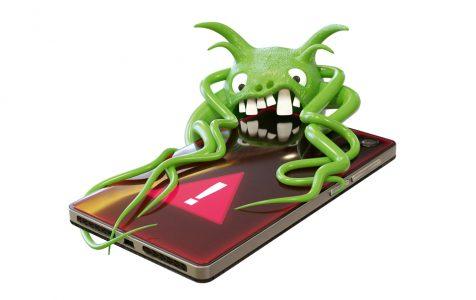 Green Virus Attacking Smartphone