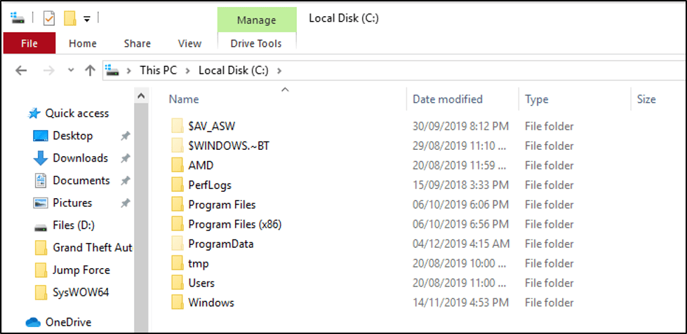 Local Disk C