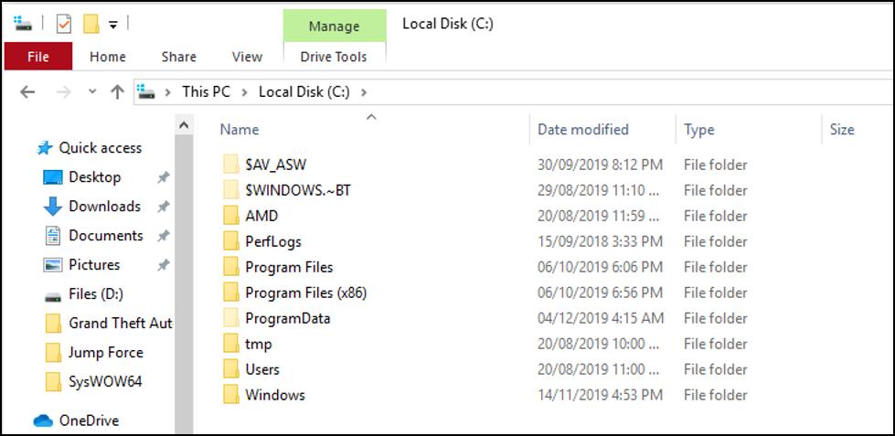 Local Disk C
