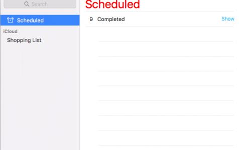 Mac Reminders App
