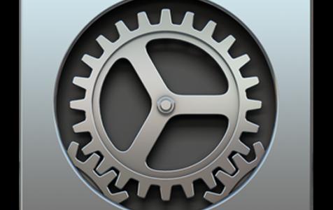 System Preferences on a Mac
