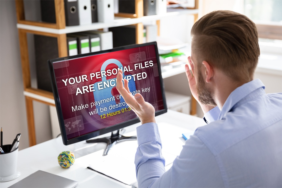 Computer with Ransomware