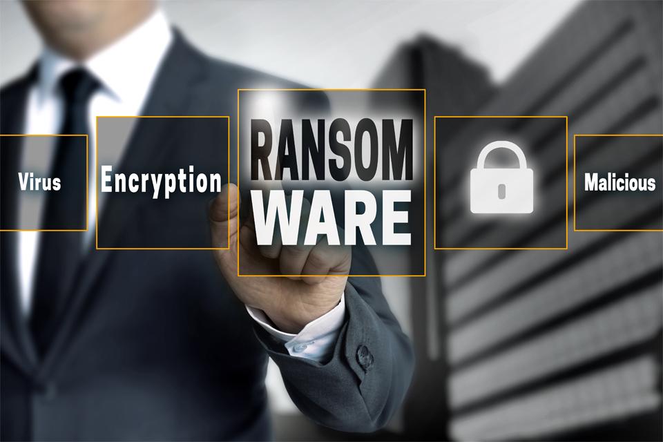 Ransom Ware Touchscreen