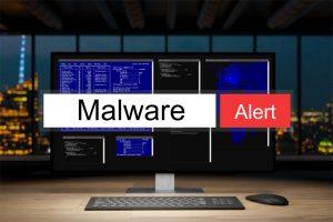 Warning Malware Alert