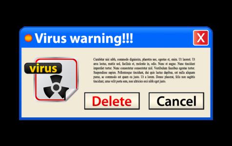 Windows Error Virus