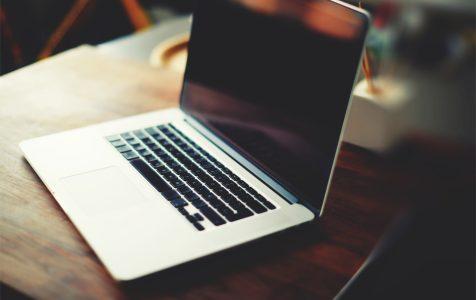 Workplace Open Laptop