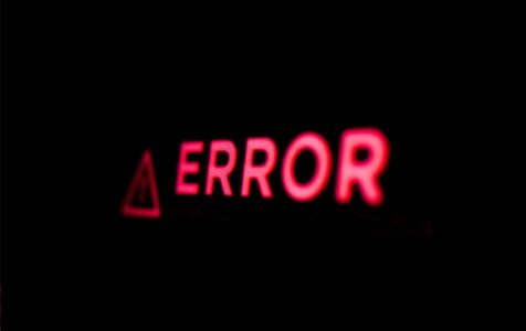 Computer Error Error Message