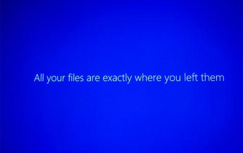 Display During Windows 10 Upgrade