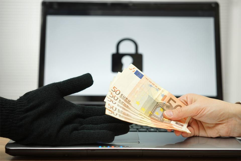 Giving Money Computer Hacker