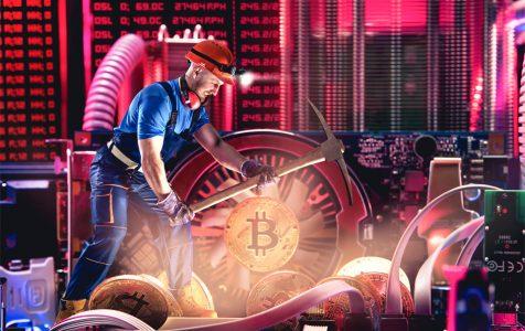 Miner Working Bitcoins