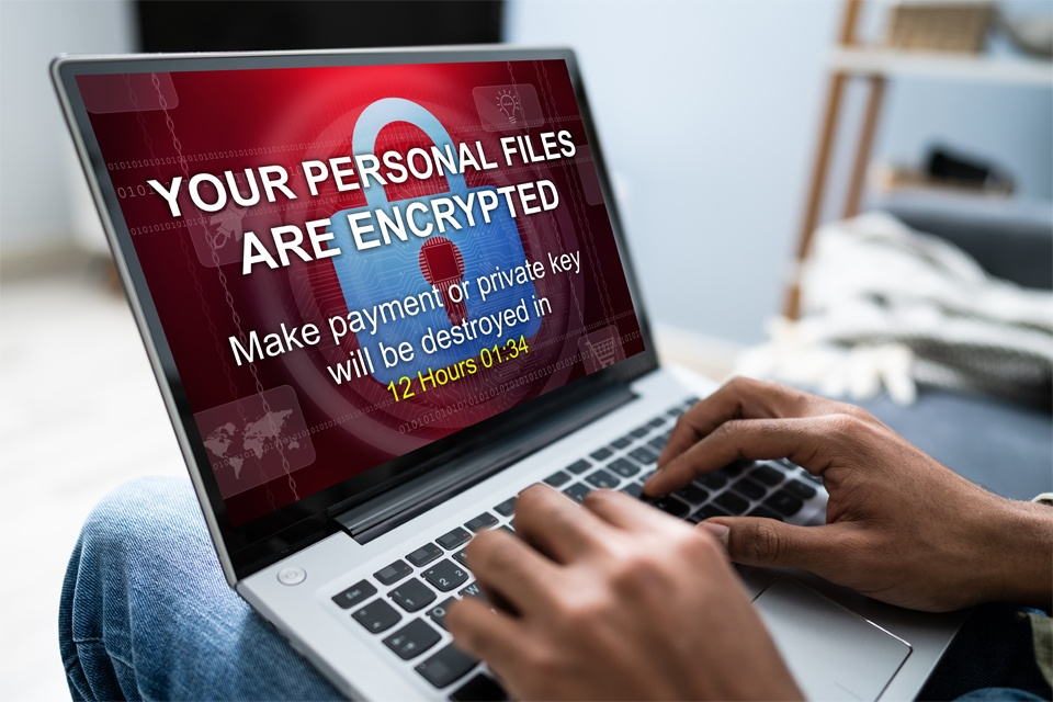 Personal Files Encrypted on Laptop