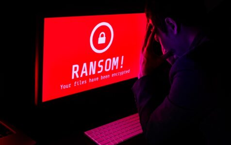 Screen Ransomware Attack