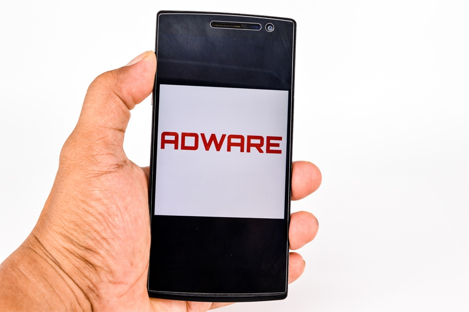 Smartphone with Adware