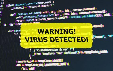 Warning Virus Detected