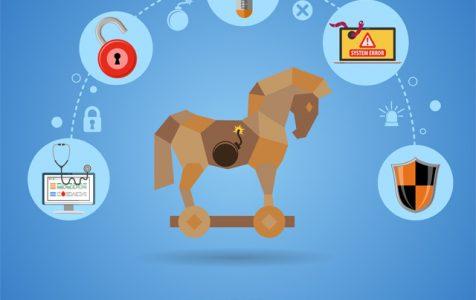 Cyber Crime Virus - Trojan Horse