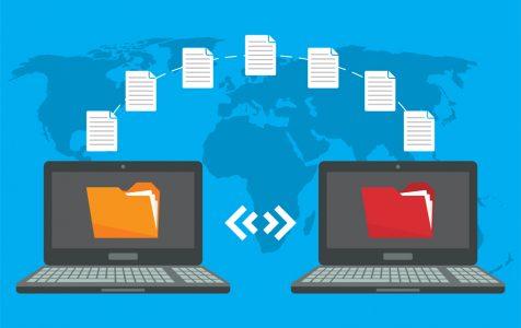 File Transfer Two Laptops Folders