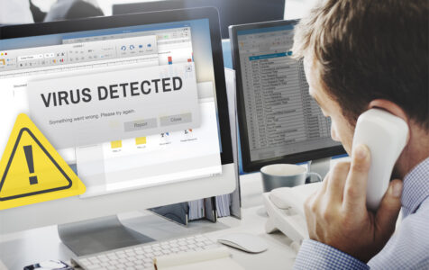 Unsecured Virus Detected