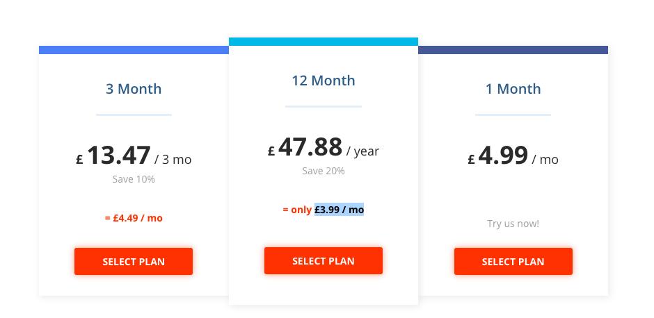 Hidden24 VPN Pricing