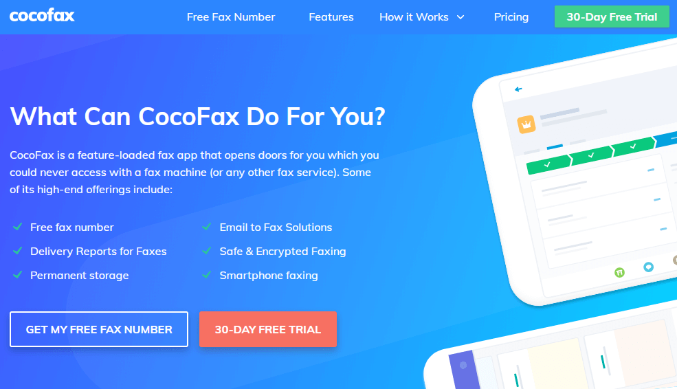 CocoFax Features